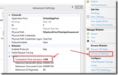 Setting Web Site connection limit – PowerShellPosse